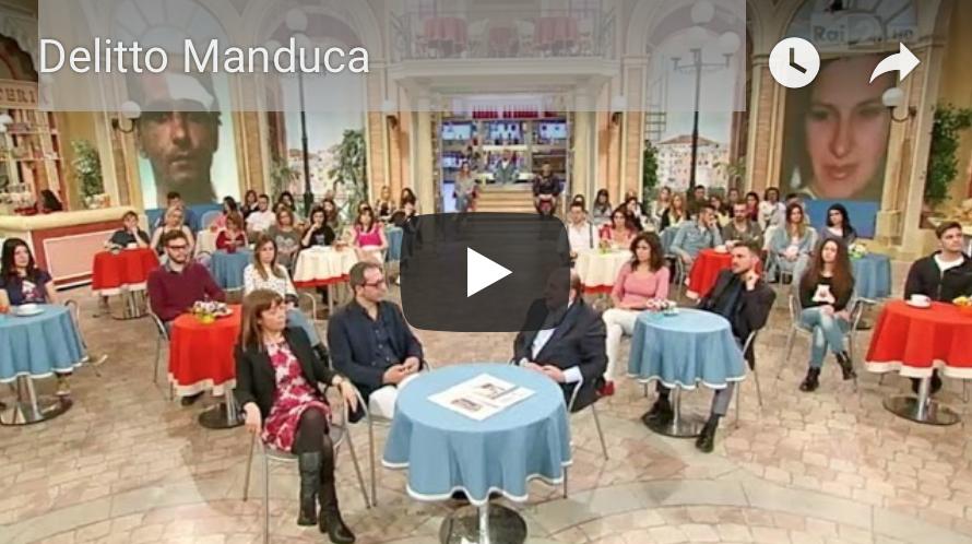 Carmelo Calì e l'avv. Licia D'Amico raccontano la storia di Marianna Manduca a I Fatti Vostri. Servizio h. 12.35