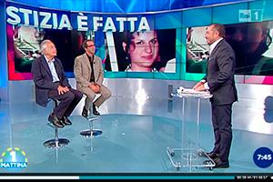 A Uno Mattina, il Prof. Alfredo Galasso intervistato sulla sentenza per il caso di Marianna Manduca.  Servizio dal minuto  39.20