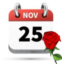 25 novembre giornata internazionale per l'eliminaizone della violenza contro le donne