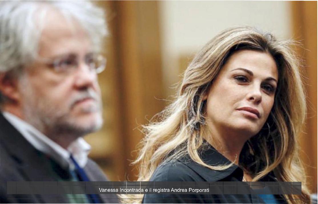 Vanessa Incontrada e il registra Andrea Porporati
