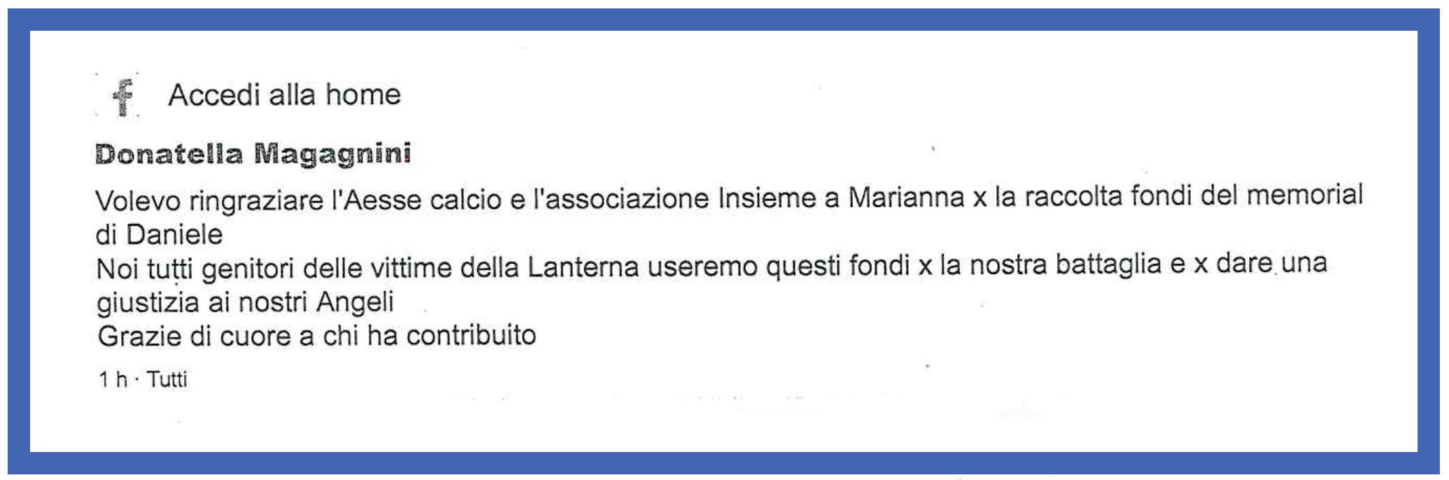 Ringraziamento-per-raccolta-fondi-strage-discoteca--Associazione-Insieme-a-Marianna