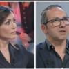 Carmelo Calì e la vicepresidente Mara Carfagna ospiti della trasmissione Tagadà del 15 aprile 2019