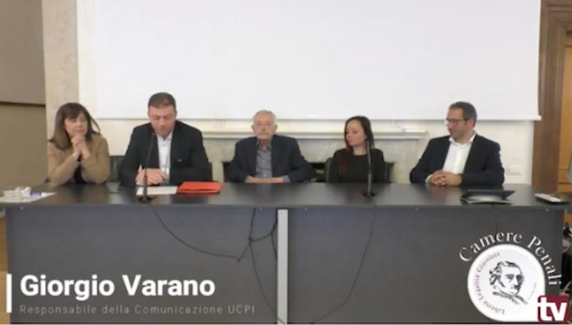 Unione delle Camere penali esamina la vicenda di Marianna Manduca con l'avv. Alfredo Galasso,l'avv. Licia D'Amico e Carmelo Calì