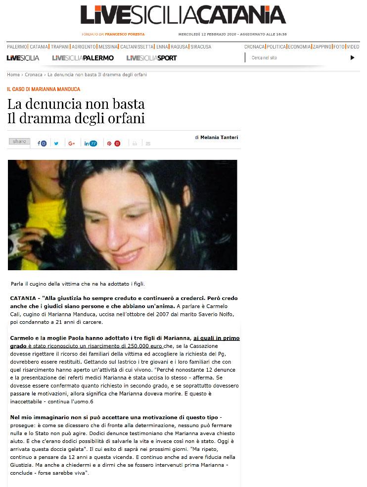 Marianna-Manduca---articolo-Live-Sicilia-Catania