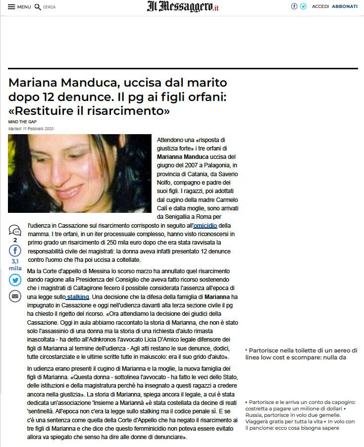 Marianna-Manduca-articolo-Messaggero