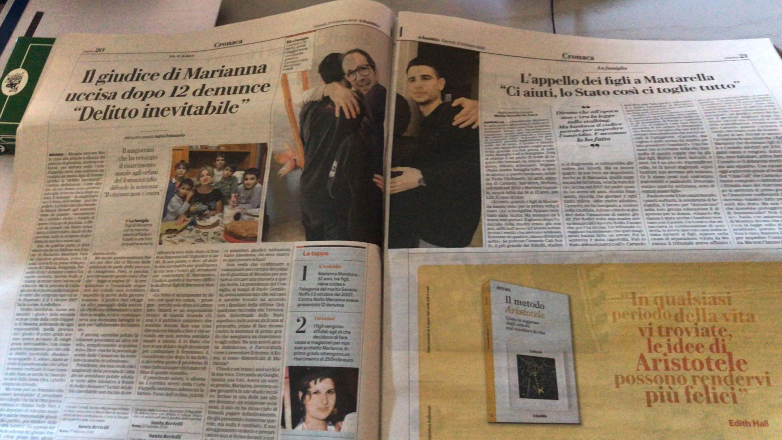 articolo-Repubblica-27-febbraio-2020