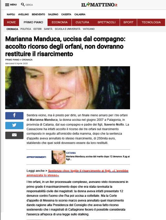Il-Mattino-caso-Manduca-1