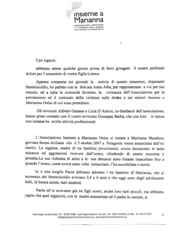 Lettera-alla-famiglia-di-Lorena-Quaranta