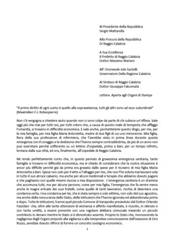 Verità e giustizia per Maria Antonietta Rositani