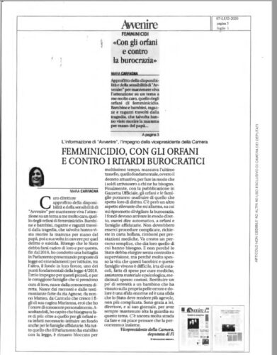 Articolo-di-Avvenire-Femminicidio-con-gli-ofani-e-contro-i-ritardi-burocratici