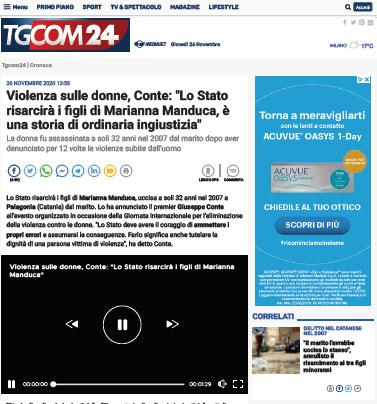 Articolo TG COM24